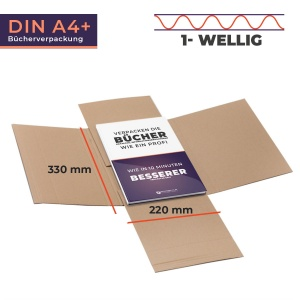 Buchverpackung- MULTIMAIL A4+